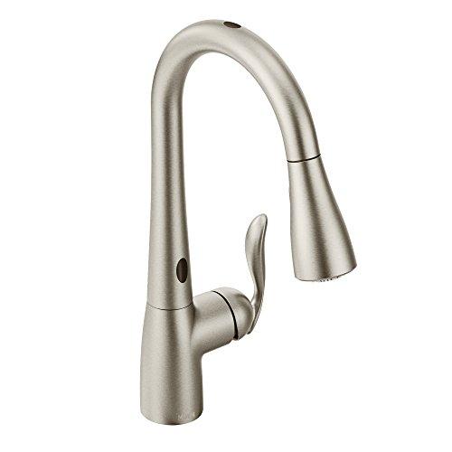 Moen Arbor Motion Sense Touchless One-Handle High Arc Pulldown Kitchen Faucet