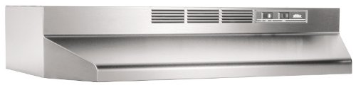 Broan 413004 ADA C apable Non-Ducted Under-Cabinet Range Hood