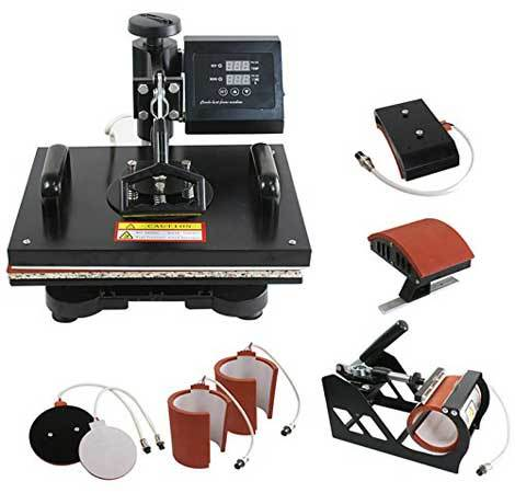 d3fd92f1 Best Heat Press T-shirt Printing Machine: Reviews in 2019 (Detailed Guide)