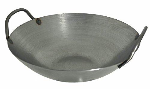 M.V Trading 14-Inch Carbon Steel Wok