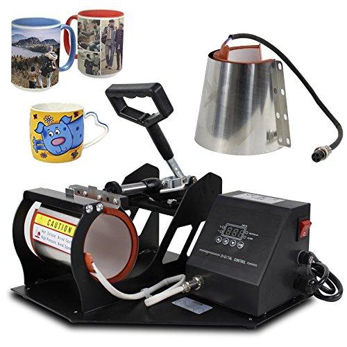 Super Deal Pro 2-in-1 Mug/Cup Heat Transfer Press Machine