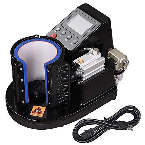 Yescom Automatic Pneumatic Mug Heat Press Machine