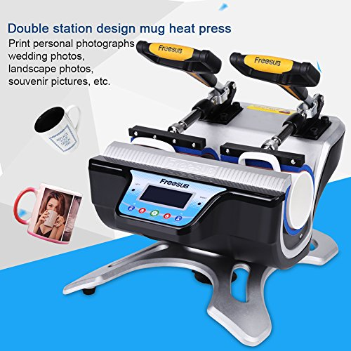 Double Stations Mug/Cup Press ST-210 Transfer Machine