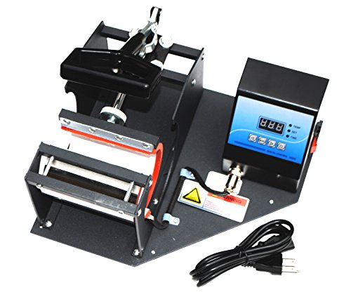 Sican Black Coffee Cup/Mug Heat Sublimation Transfer Machine