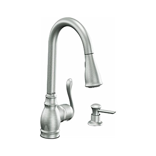 MOEN CA87003SRS 1H SRS Kitchen Faucet