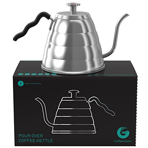 Coffee Gator Pour Over Kettle Fixed Thermometer