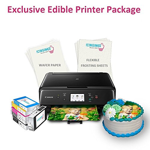 Canon Edible Printer Package - Printer, Ink, Paper and Icing Sheets